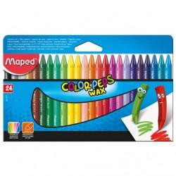 Maped Color Peps Wax Crayon...