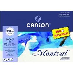 Canson Bloc Aquarel Montval...